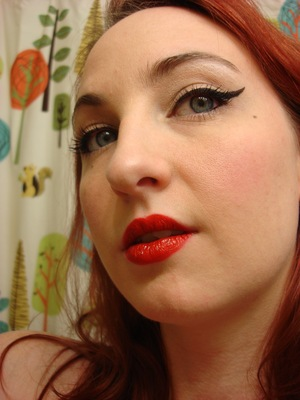 Pinup Style :) Video on this look coming today, hopefully!