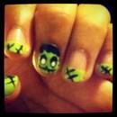 Frankenstein inspired Nails