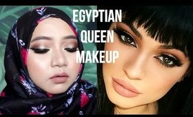EGYPTIAN QUEEN | KYLIE JENNER INSPIRED MAKEUP #1