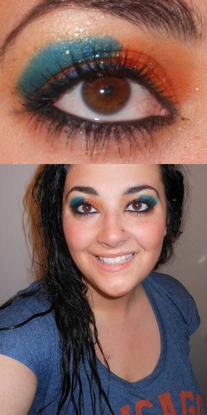 More Bears-inspired makeup