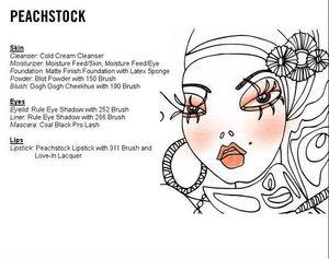 Peach Stock