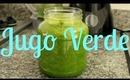 Jugo verde con verduras y fruta, ayuda a adelgazar - KATHY GAMEZ