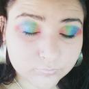 Rainbow eyes :3