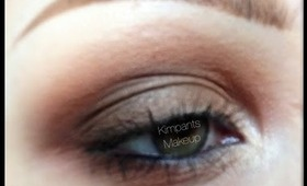 Eyeshadow Placement Makeup Tutorial by KimpantsMakeup - Part 1