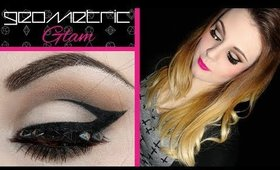 Geometric Glam - Dramatic Graphic Liner Tutorial