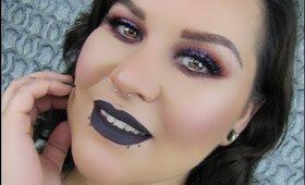 Purple Makeup Look Using Colourpop in Bae and Eyescream Cosmetics by Mystiquee1986