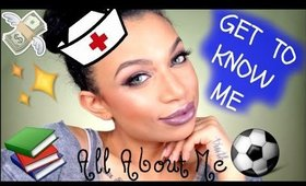 6 KIDS, NURSING, SPEAKING FRENCH, GETTING HIT IN THE FACE!?! | GET TO KNOW ME | MissToniTone