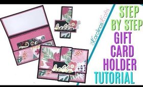 DIY Gift Card Holder for Christmas or any other occasion!