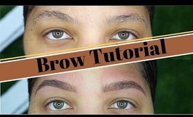 how to shape your eyebrows with a razor | natural brow routine