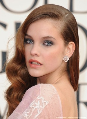 The Golden Globes 2013 makeup by Billy B both for L'oreal Paris