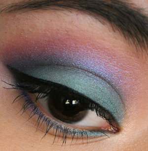 all the color are from the urban decay 15th anniversary palette