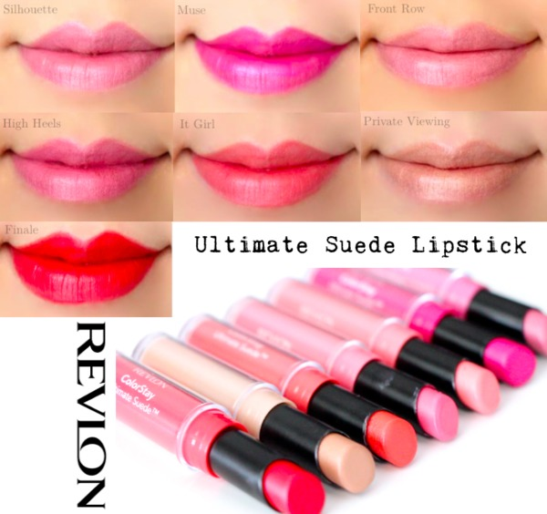 Revlon ColorStay Ultimate Suede Lipstick Swatches | Marlin