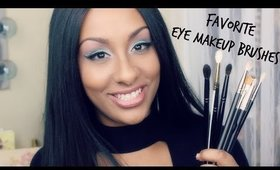 Favorite Eye Makeup Brushes | Beginner Friendly | Mo Makeup Mo Beauty