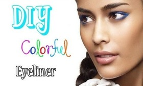 DIY How To Make Your Own Colorful Eyeliner