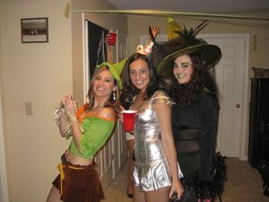 scarecrow, tinman, wicked witch