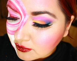 Candy Land Inspired Make-Up