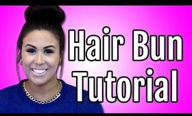 Hair Bun Hairstyles Tutorial - How To Use A Sock, Donut, or Bun Maker   Kim Kardashian Look