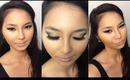 Gold Glitter Glam Makeup Tutorial