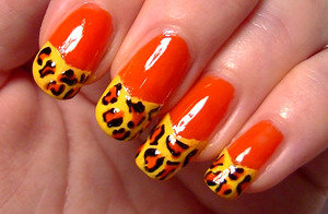 A super bright, super easy nail art design I hope you like! Please click this http://www.youtube.com/watch?v=2Mec7nPIXb4 to check it out on the 'tube, which helps me out a lot! :)