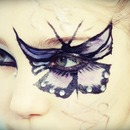 Butterfly make up.