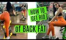 GET RID of BACK FAT | DUMBBELL ONLY WORKOUT + Physique Update | Fit Vlog S2 E5