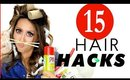 15 ★ Smart B*tches HAIR HACKS every GIRL Should KNOW! | MakeupWearables Hairstyles