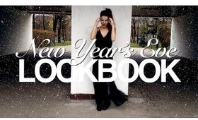 NEW YEARS EVE OUTFIT LOOKBOOK | NYE 2015/2016