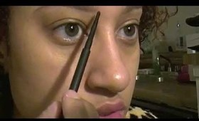 How to fill in eyebrows part 1 tutorial