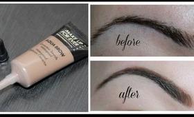 Eyebrow Routine ft. Makeup Forever Aqua Brow