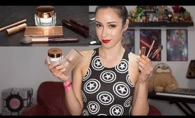 Trying on my Charlotte Tilbury mini haul + review