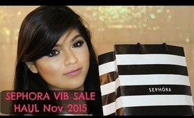 Sephora VIB Sale November 2015 || TansiaA ❤