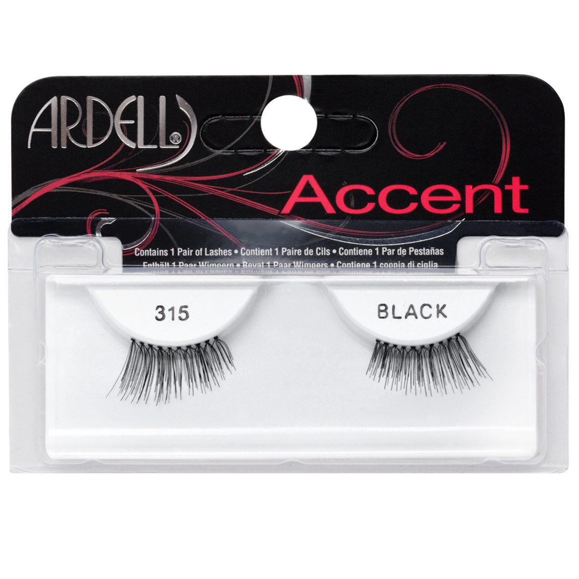 Ardell Accent Lashes 315 Black