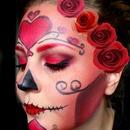 Valentine Callowlily/Sugar Skull Inspired
