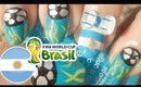 World Cup 2014 Argentina Nail Art Tutorial