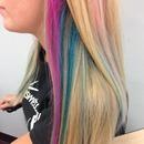 Angled color-lights