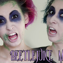 Easy Beetlejuice Makeup Tutorial!