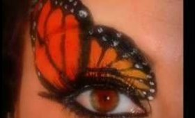 monarch butterfly make-up