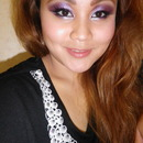 Dramatic Purple Smokey Eyes