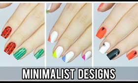3 Minimalist Nail Art Designs For Summer!
