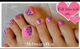 Cute Toenail Art Design for Valentine´s Day  ♥