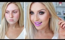 Purple Lips & Neutral Eyes! ♡ Chit Chat GRWM