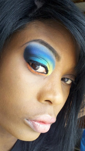 I used saucebox cosmetics temptation pallet for this look along with sugarpill cosmetics :D