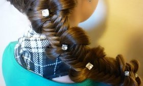 Fishtail Bow Tie Braid, Back To School Hairstyles