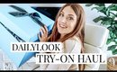 Clothing Unboxing and Try-On Haul: DAILY LOOK   Kendra Atkins