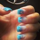 Blue Nails -Gel