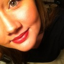 Red lippy 💋
