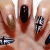 Union Jack/ London Nails