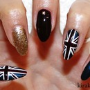 Union Jack/ London Nails