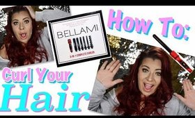 HOW TO CURL YOUR HAIR USING BELLAMI CURL WAND | Jessie Melendez