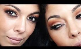 Summer Bronzed Cut Crease Makeup Tutorial